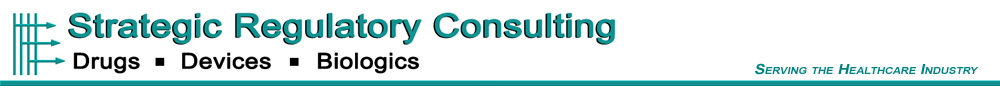 Strategic Regulatory Consulting